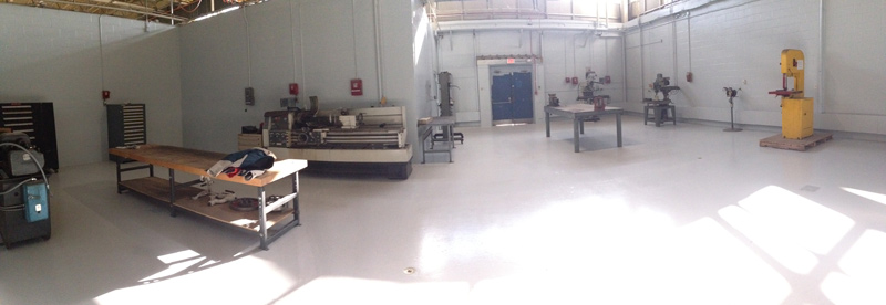 TechShop shared manufacturing space